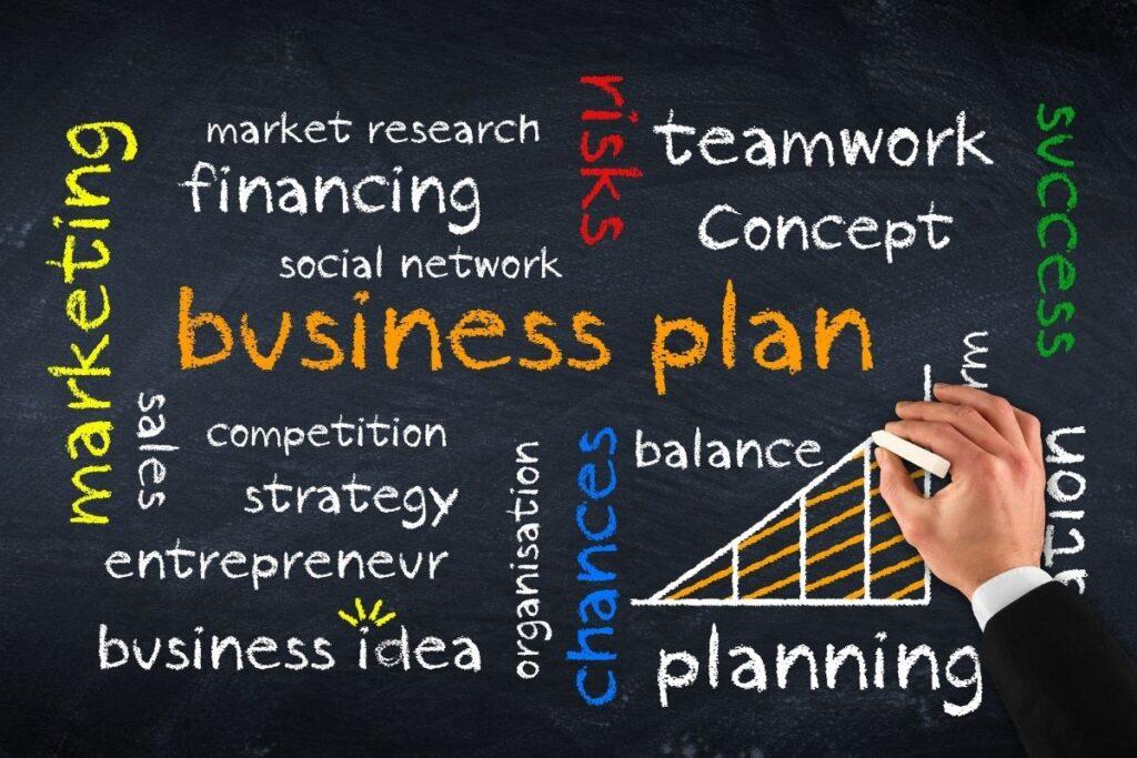 Not having a business plan